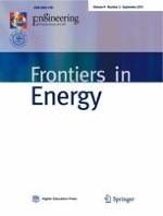 Frontiers in Energy 3/2015