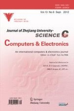 Frontiers of Information Technology & Electronic Engineering 9/2012