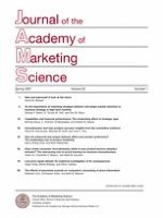 Journal of the Academy of Marketing Science 1/2007