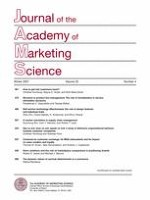 Journal of the Academy of Marketing Science 4/2007