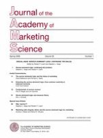 Journal of the Academy of Marketing Science 1/2008