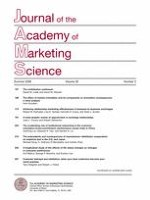 Journal of the Academy of Marketing Science 2/2008