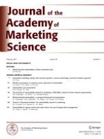 Journal of the Academy of Marketing Science 1/2011