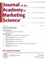 Journal of the Academy of Marketing Science 1/2012