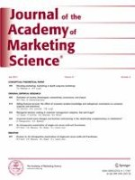 Journal of the Academy of Marketing Science 4/2013
