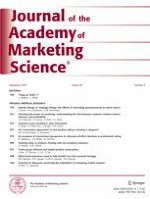 Journal of the Academy of Marketing Science 5/2018
