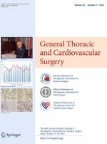 General Thoracic and Cardiovascular Surgery 11/2014