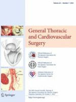 General Thoracic and Cardiovascular Surgery 7/2016