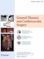 General Thoracic and Cardiovascular Surgery 3/2018