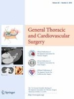 General Thoracic and Cardiovascular Surgery 6/2018