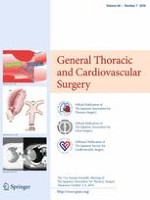 General Thoracic and Cardiovascular Surgery 7/2018