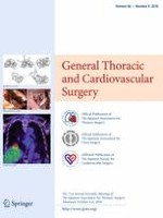 General Thoracic and Cardiovascular Surgery 8/2018
