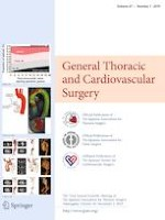 General Thoracic and Cardiovascular Surgery 1/2019