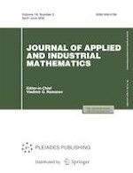 Journal of Applied and Industrial Mathematics 2/2020