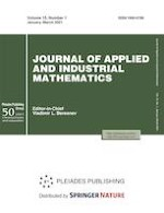 Journal of Applied and Industrial Mathematics 1/2021