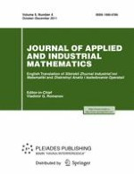 Journal of Applied and Industrial Mathematics 4/2011