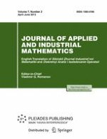 Journal of Applied and Industrial Mathematics 2/2013