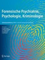 Forensische Psychiatrie, Psychologie, Kriminologie 1/2007