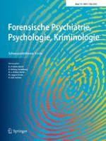 Forensische Psychiatrie, Psychologie, Kriminologie 2/2016