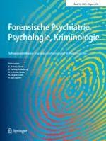 Forensische Psychiatrie, Psychologie, Kriminologie 3/2016