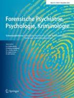 Forensische Psychiatrie, Psychologie, Kriminologie 4/2016