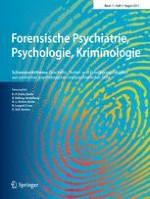 Forensische Psychiatrie, Psychologie, Kriminologie 3/2017