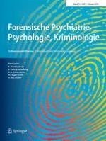 Forensische Psychiatrie, Psychologie, Kriminologie 1/2018