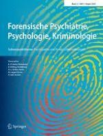 Forensische Psychiatrie, Psychologie, Kriminologie 3/2018