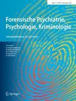 Forensische Psychiatrie, Psychologie, Kriminologie 4/2018