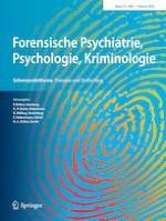 Forensische Psychiatrie, Psychologie, Kriminologie 1/2020