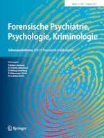 Forensische Psychiatrie, Psychologie, Kriminologie 1/2021