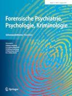 Forensische Psychiatrie, Psychologie, Kriminologie 3/2021