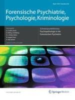Forensische Psychiatrie, Psychologie, Kriminologie 4/2010