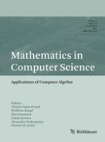 Mathematics in Computer Science 3-4/2017