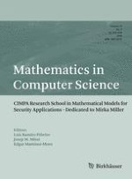 Mathematics in Computer Science 3/2018