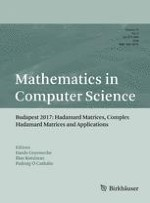 Mathematics in Computer Science 4/2018