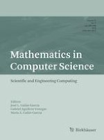 Mathematics in Computer Science 3/2019