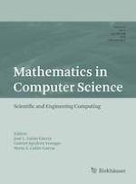 Mathematics in Computer Science 3/2019
