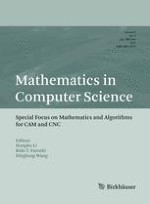 Mathematics in Computer Science 3/2012