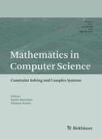 Mathematics in Computer Science 4/2012