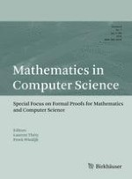 Mathematics in Computer Science 1/2015