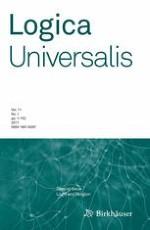 Logica Universalis 1/2017