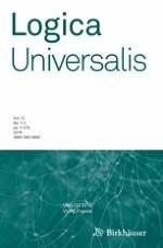 Logica Universalis 1-2/2018
