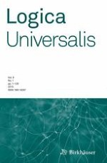 Logica Universalis 1/2015