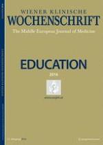 Wiener klinische Wochenschrift Education 1-4/2016