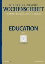 Wiener klinische Wochenschrift Education 1-4/2017