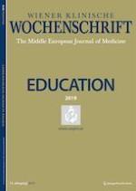 Wiener klinische Wochenschrift Education 1-4/2019