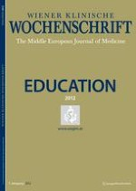 Wiener klinische Wochenschrift Education 2/2012