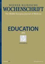 Wiener klinische Wochenschrift Education 3-4/2012