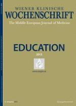 Wiener klinische Wochenschrift Education 1/2013